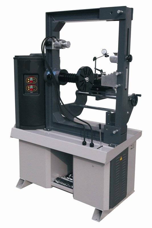 Jant Düzeltme Makinesi (Üstü Kapalı Tip)